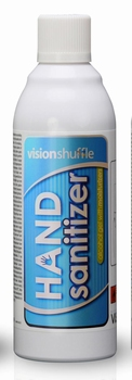 Vision Shuffle Hand Sanitizer met 85% alcoh. 2500dos. 6 st.